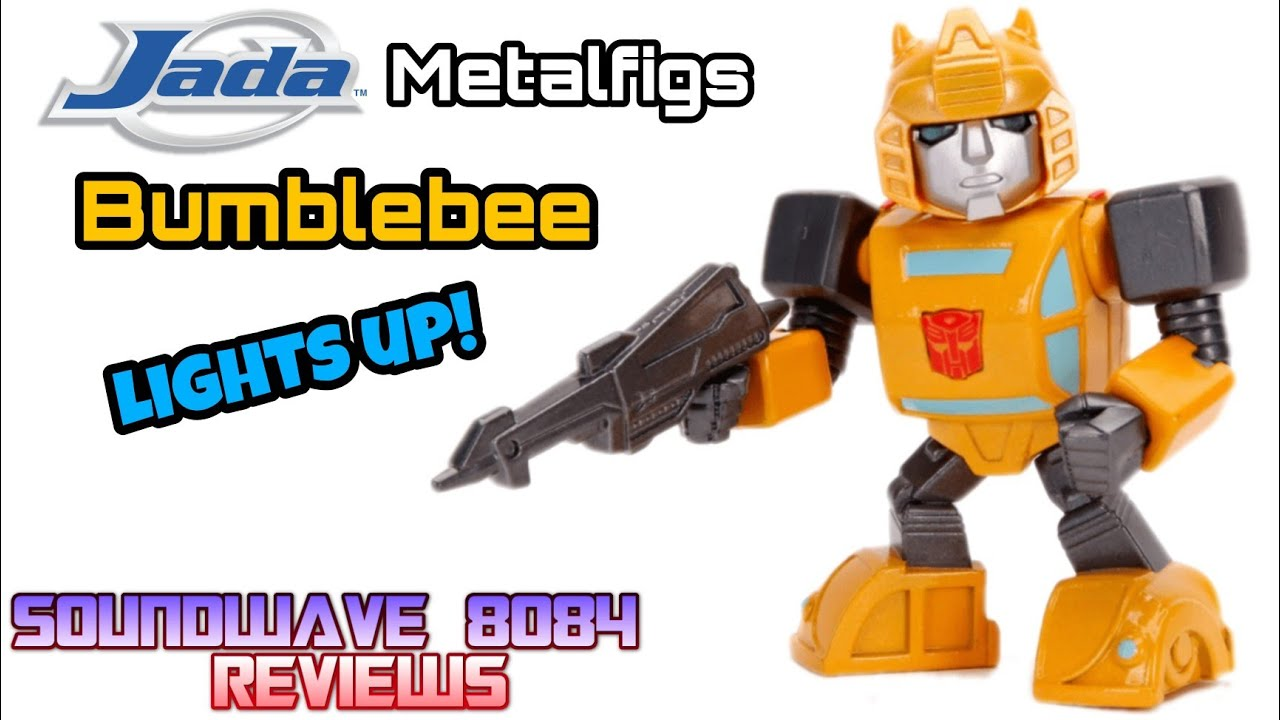 Jada Toys Metalfigs Bumblebee With Light Up Eyes Review By Soundwave 8084