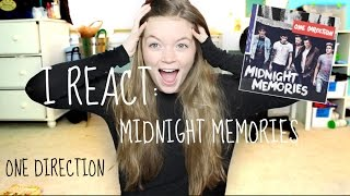 Repeat youtube video I REACT: MIDNIGHT MEMORIES || One Direction
