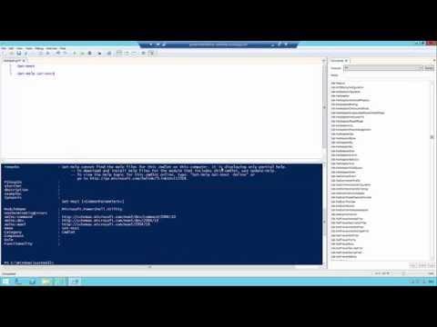 Einführung in Windows PowerShell 4.0 - Überblick (Teil 1/3)