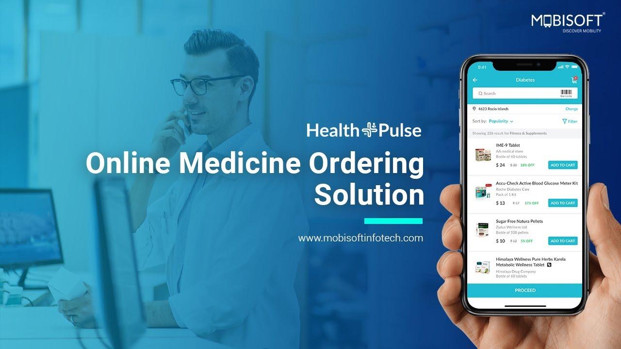 Online Pharmacy App Development Solution- Mobisoft Infotech