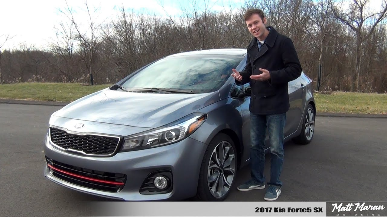 review 2017 kia forte5 sx manual the overlooked turbo hatch youtube. Black Bedroom Furniture Sets. Home Design Ideas