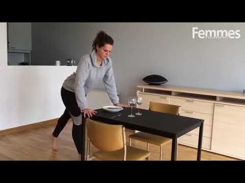 Sport express, musclées vite et bien: des pompes en mettant la table