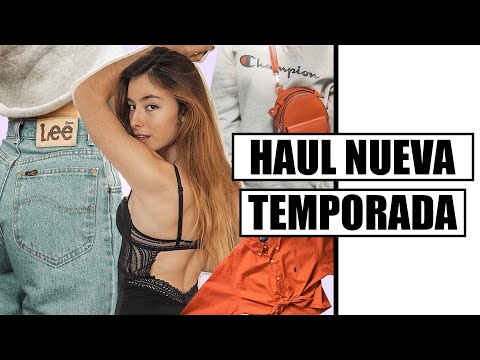 TRY-ON HAUL | PULL&BEAR, VINTAGE, SHEIN, AMAZON... | Miriam Sancho