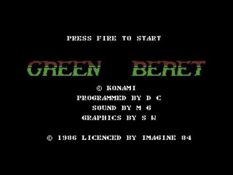 Green Beret Title Music for the Commodore 64