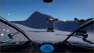 UE4 Hovertank Game - Gun Towers [PID / PD Controllers]