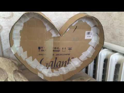Как сделать сердце из картона своими руками