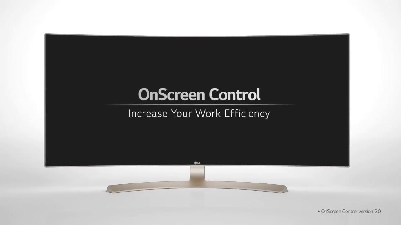 LG Monitor OnScreen Control Split Screen, Game Mode, & More