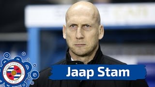 Jaap speaks after the game is abandoned against Fulham