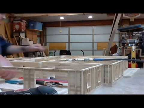 4 - Popsicle House  Build Time Lapse:  First Floor Ceiling