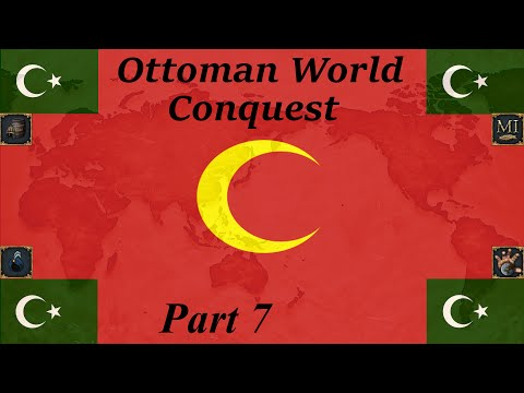 EU4 Ottoman World Conquest part 7. The fight for Levant continues.
