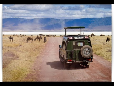 Ngorongoro Crater is a protected area and a World Heritage Site in Tanzania, west of Arusha