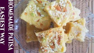 Ghar Pr Patisa Bnanay Ka Sab Se Aasan Treeka | Easiest Sohn papri | Easy cooking with Shazia