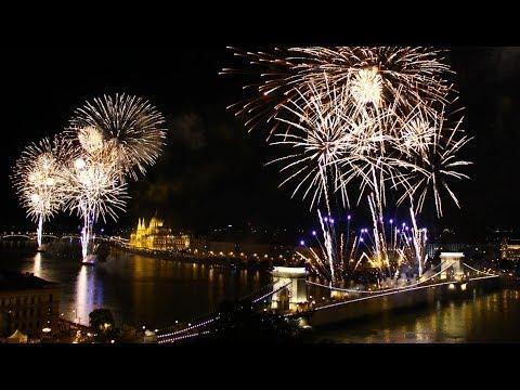 Tűzijáték Fireworks - Budapest, 2017. augusztus 20.