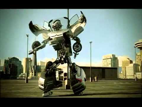 Citroen C4 Transformers Advert