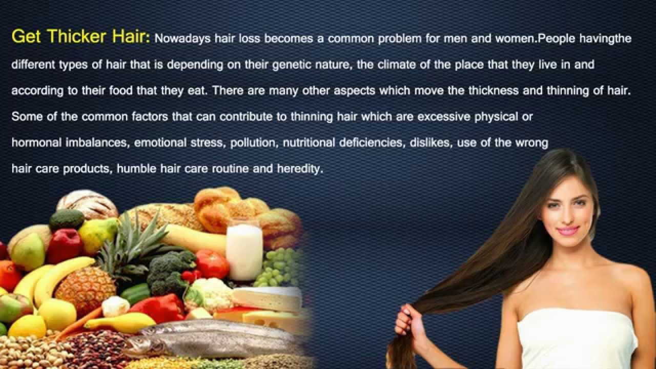 how to get healthy hair fast