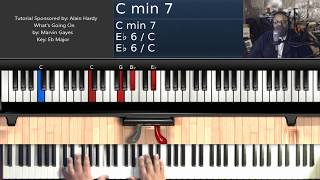 What's Going On (by Marvin Gaye) - Piano Tutorial