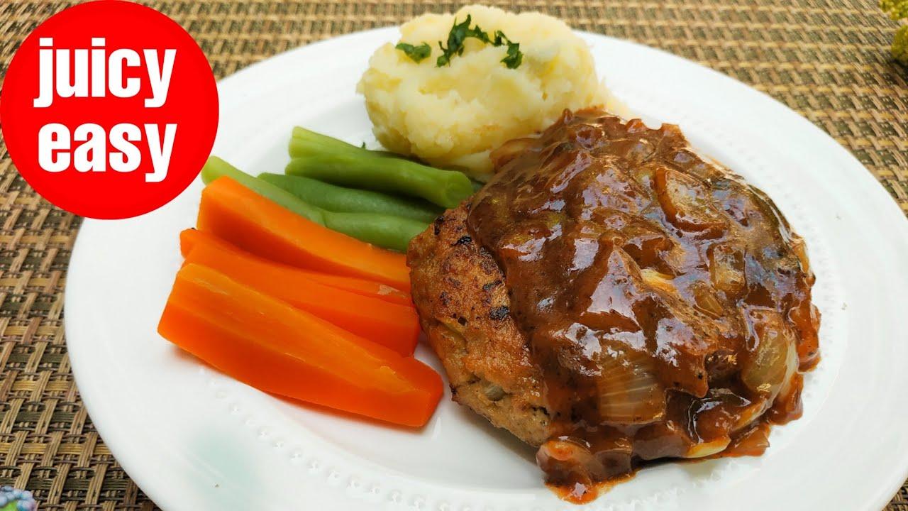 Japanese Hambagu Steak Ide Olahan Daging Hamburger Steak Youtube Steak Resep Masakan