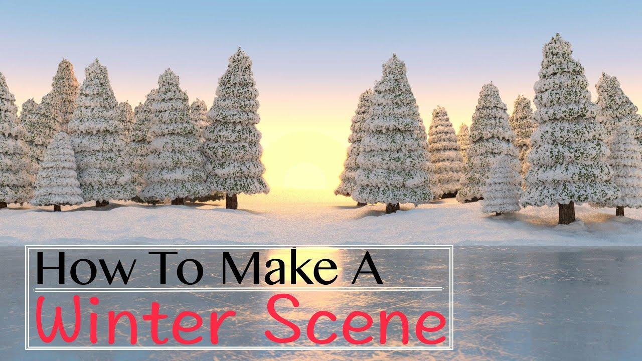 how to make an underwater scene in blender