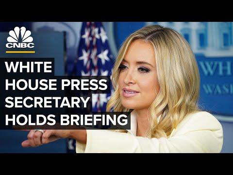 White House Press Secretary Kayleigh McEnany holds briefing — 8/10/2020