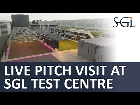 Behind The Screens With Mark Wubben: Live Pitch Visit At SGL Research & Innovation Centre | SGL LIVE