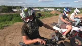 Подростковый квадроцикл MOTAX T-Rex - обзор и тест драйв от Андрея Скутерца