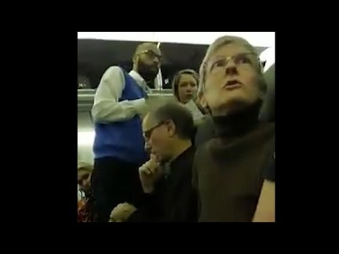 Trump supporters, other passengers in shouting bout on plane