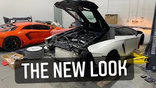 $60,000 Transformation of my Lamborghini Aventador. The New Look.
