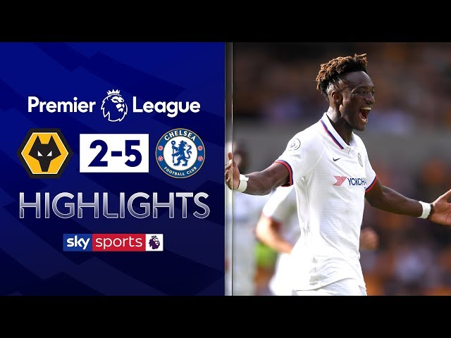 Tammy Abraham scores hat-trick AND own goal! | Wolves 2-5 Chelsea | Premier League Highlights