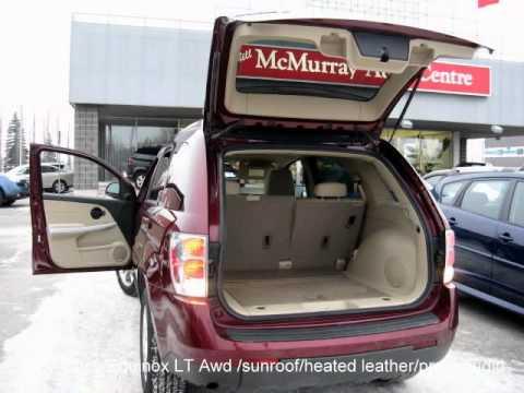 2007 Chevrolet Equinox Lt Awd Suv Heated Leather Sunroof