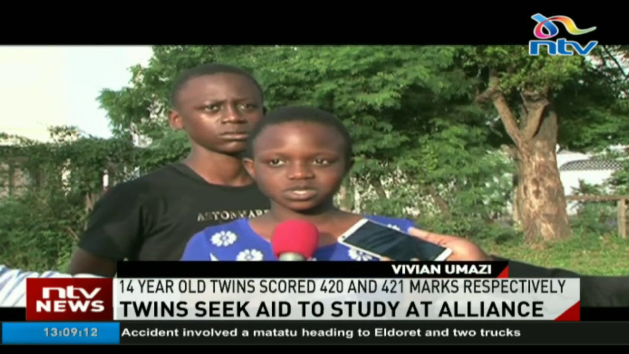 Jobless father unable to raise fees for twins admitted at Alliance Boys and Alliance Girls