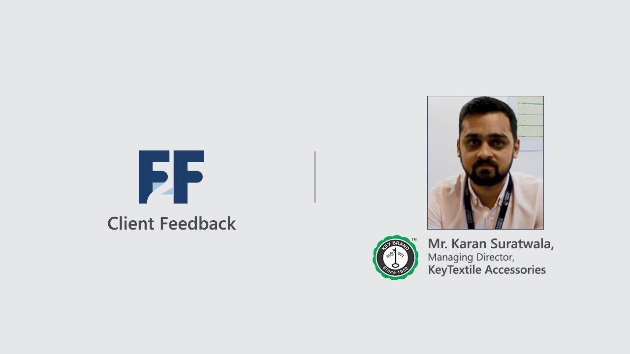 Client Feedback | Mr. Karan Suratwala | Testimonial Video | Fibre2Fashion