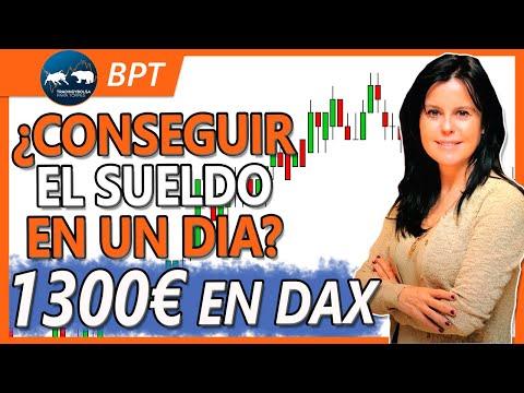 Trading Dax Operativa en Vivo 1300€ en un Día