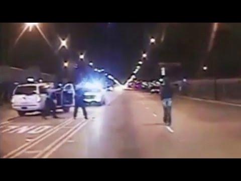 Dashcam video shows
