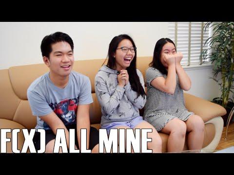 F(x) (에프엑스)- All Mine (Reaction Video)