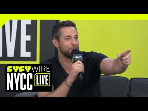 Zachary Levi Talks DC's Shazam!  NYCC 2018  SYFY WIRE