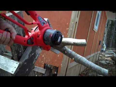 Field testing the Black & Decker Alligator Lopper