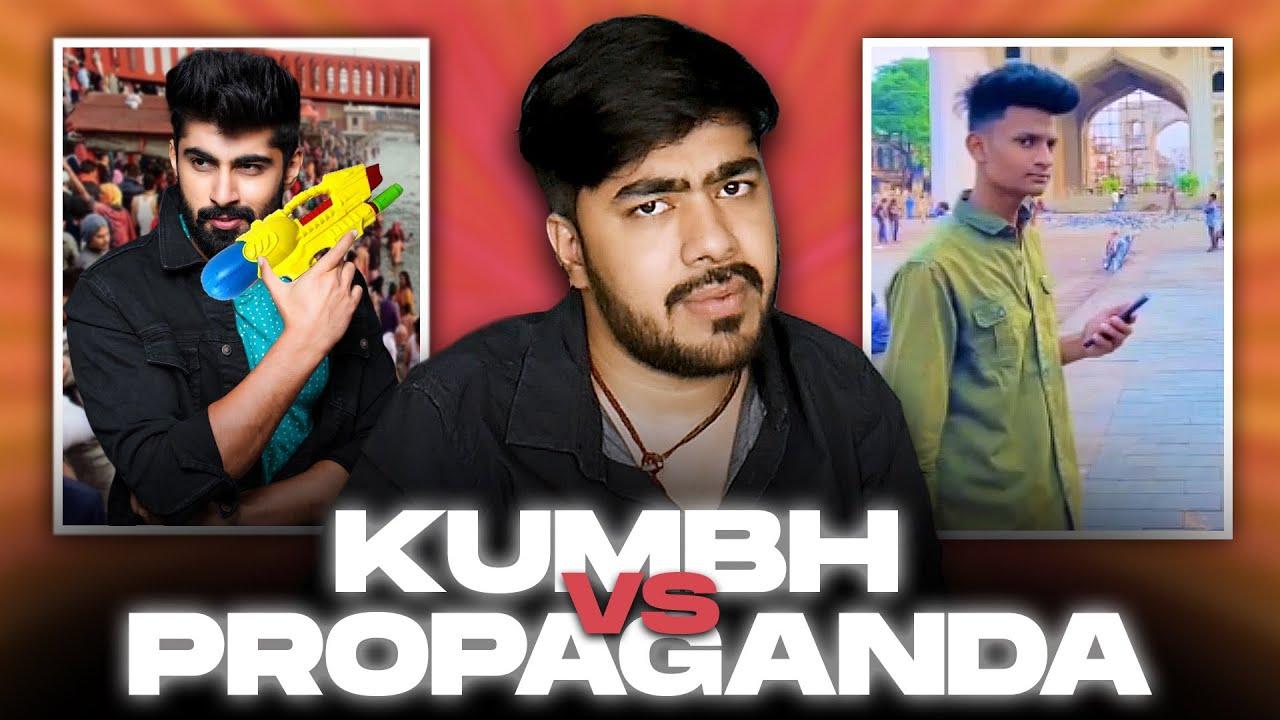 KUMBH OR PROPAGANDA ?? FT MRIDUL MODHAK !!