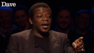 A man shouted baboon at Stephen K Amos but it wasnt racist Was it