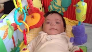 Ejercicios de Intervención Temprana para bebés con Síndrome de Down de 0 a 6 meses