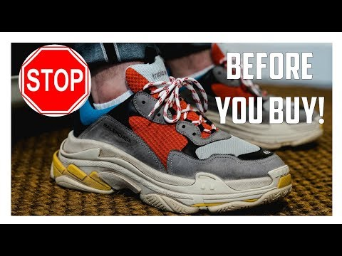 Watch This Before You Buy The Balenciaga Triple S!