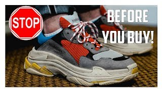 Video Watch This Before You Buy The Balenciaga Triple S! download MP3, 3GP, MP4, WEBM, AVI, FLV Juni 2018