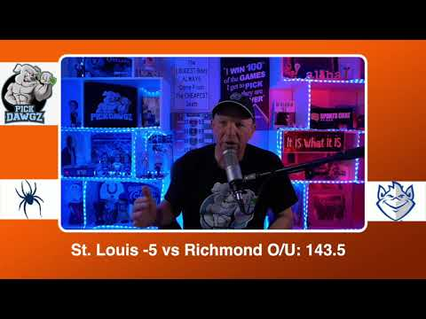 St. Louis vs Richmond 2/26/21 Free College Basketball Pick and Prediction CBB Betting Tips