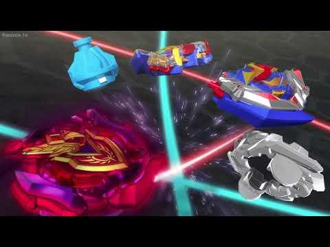 Beyblade Burst Turbo Valt vs Aiger english dub FINAL PART!