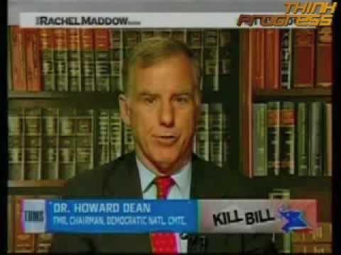 Dean criticizes Senate Finance Committee