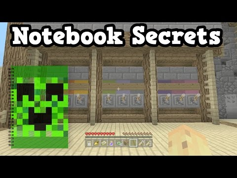 Minecraft Xbox - Opportunities To Use A Notebook