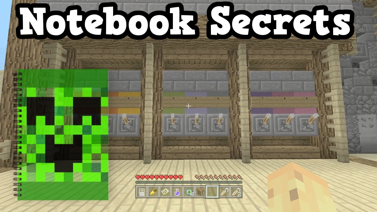 how to make notebook in minecraft