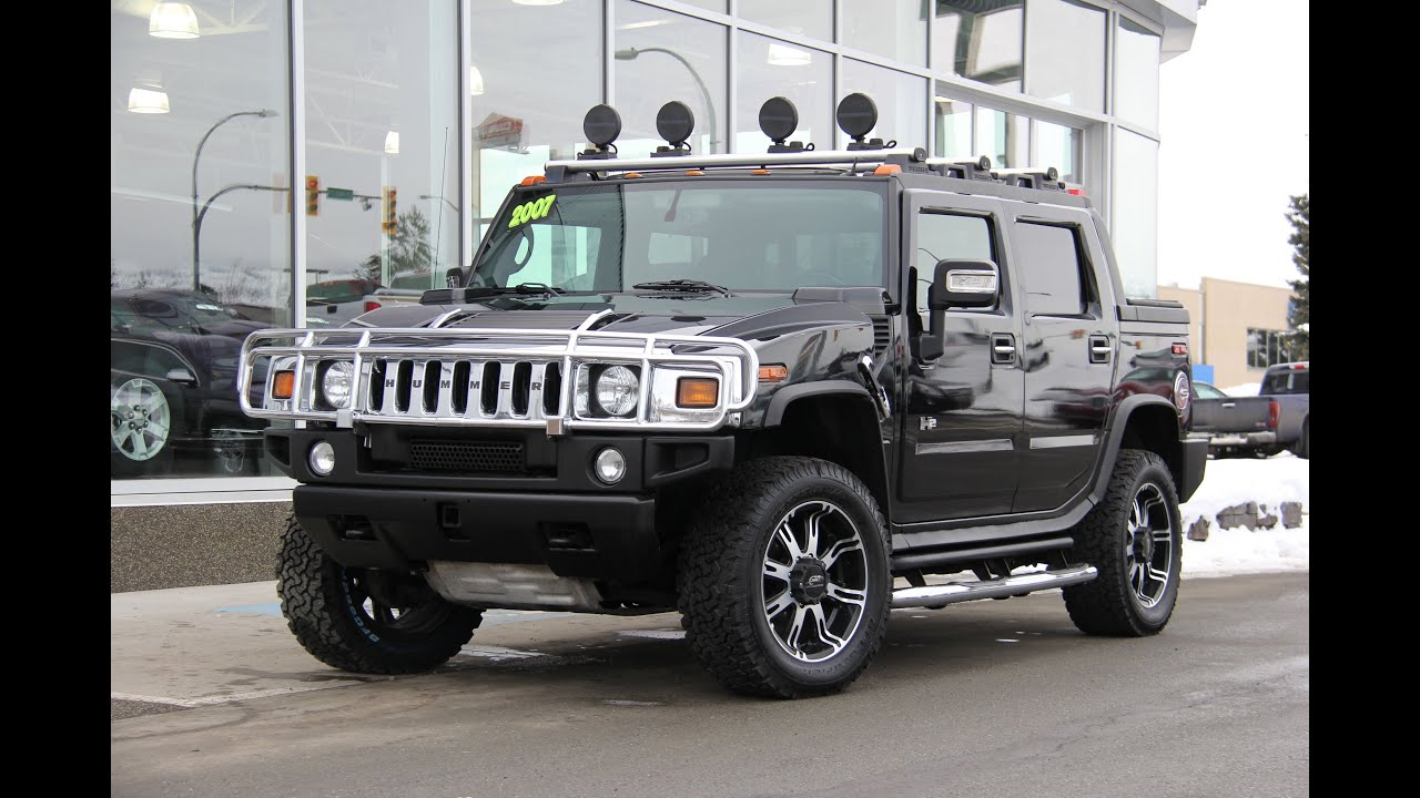 Hummer H2 SUT For Sale  YouTube