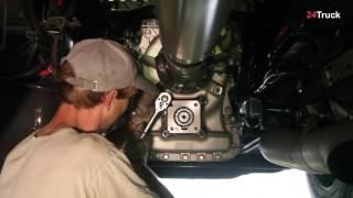 Установка коробки отбора мощности (КОМ) на Renault