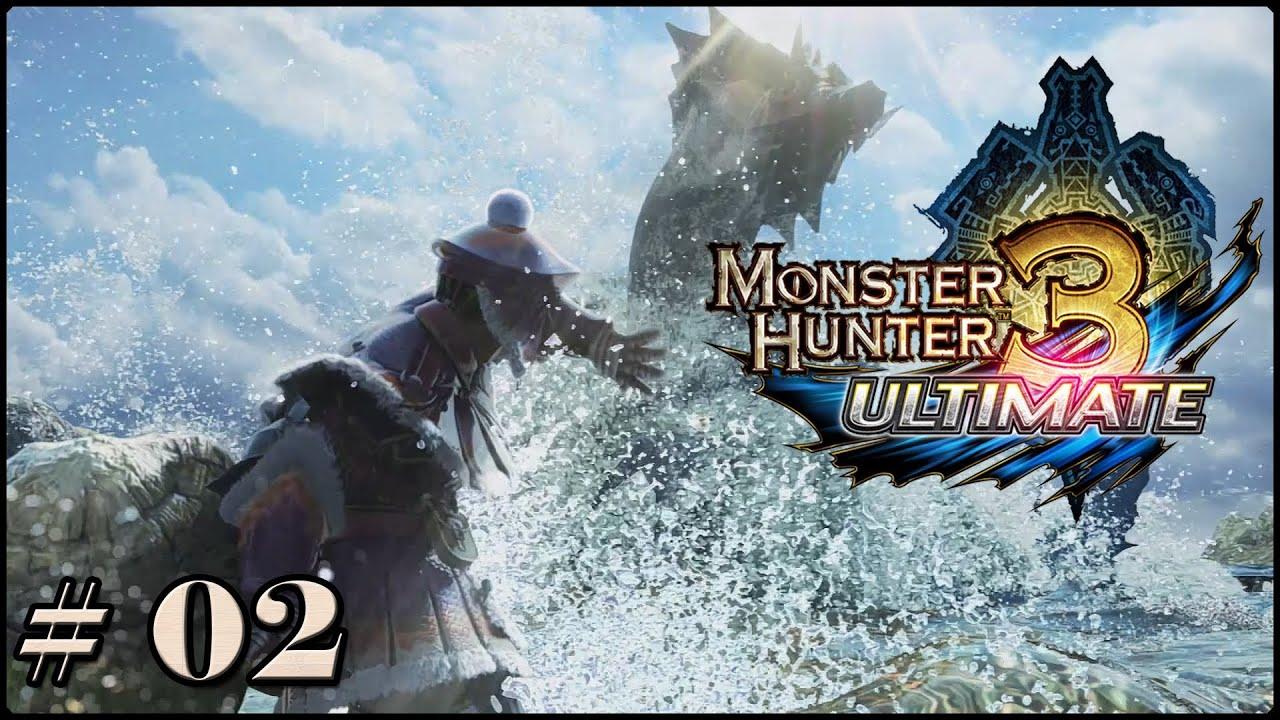 Monster Hunter 3 Ultimate - Episode 2 - Das Tutorial wird ...