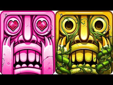 Temple Run 2 Lost Jungle vs Sky Summit Android iOS Gameplay